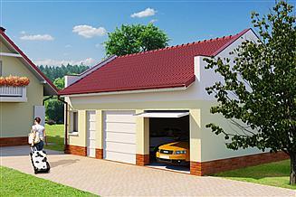 Projekt garażu Garaż G53