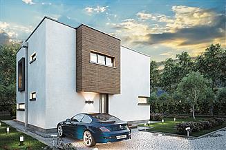 Projekt domu Qubus