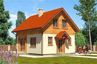 Projekt domu Domek Jesienny (005 SK V2)