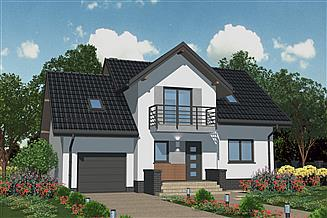 Projekt domu APS 193