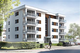 Projekt budynku wielorodzinnego Akant 2 Budynek wielorodzinny