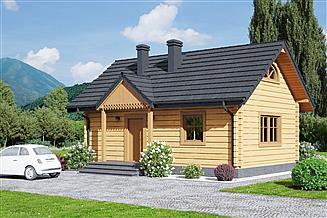 Projekt domu Hoczew mała 3