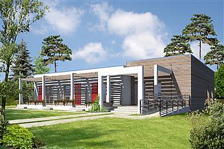 Projekt pensjonatu Budynek agroturystyczny Jesion DCPS03