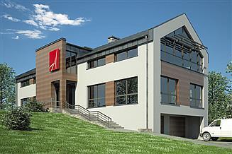 Projekt budynku biurowego Usługowy