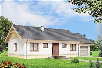 Projekt domu Tebe II