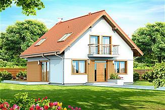 Projekt domu Diona Mała