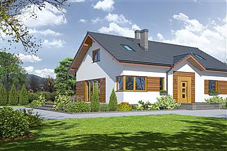 Projekt domu Adresowo