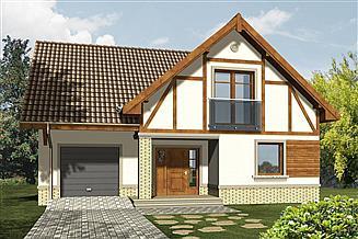 Projekt domu Arkady