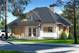 Projekt domu Reksio