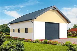 Projekt garażu G302