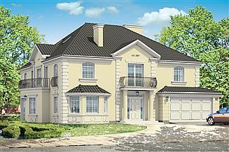 Projekt domu Sokół