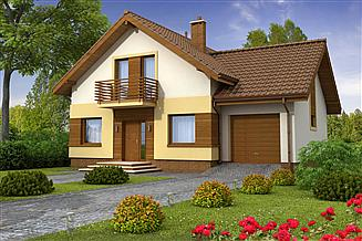 Projekt domu Wanilia 2