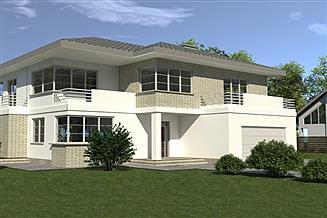 Projekt domu DN 004