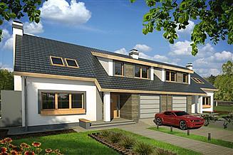 Projekt domu Rodzynek 2A 2-lokalowy