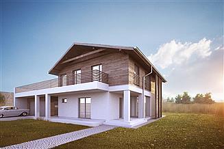 Projekt domu House 10.2