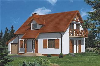 Projekt domu WB-3473