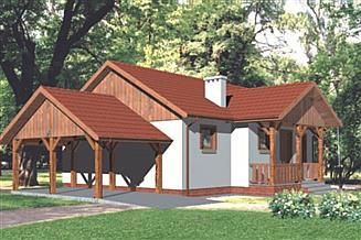 Projekt domu WB-3482