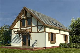 Projekt domu WM B05 Cyranka