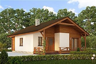 Projekt domu Mikka
