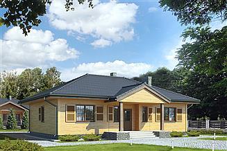 Projekt domu Borówka 2 dr-S