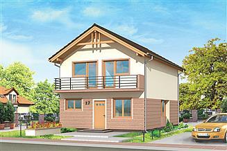 Projekt domu Dom z piętrem
