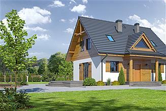 Projekt domu Jurkowo małe