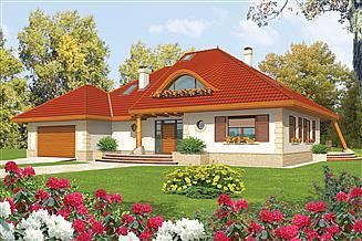 Projekt domu Diuna G2 (wole oko)