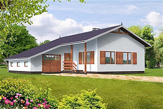 Projekt domu Magda drewniany