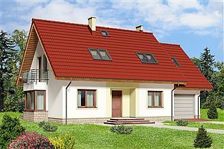 Projekt domu Izolda II