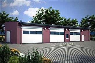 Projekt budynku gospodarczego G92 - Budynek gospodarczy