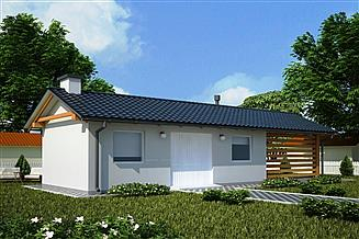 Projekt budynku gospodarczego G99 - Budynek gospodarczy