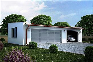 Projekt garażu G103 - Budynek garażowy