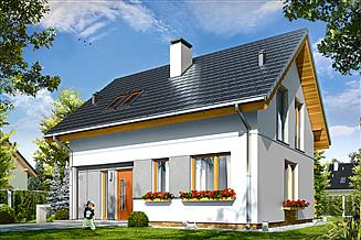 Projekt domu Ania
