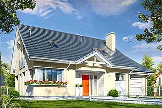Projekt domu Optymalny 2