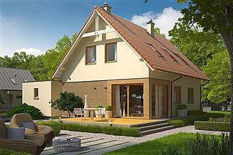 Projekt domu Tiago G1 (wersja B)
