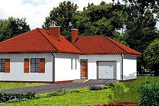 Projekt domu WB-3495