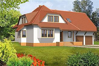 Projekt domu Patrycja drewniany