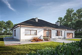 Projekt domu Dom Rozłożysty C