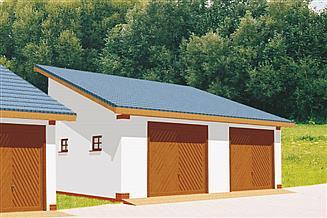 Projekt budynku gospodarczego BG 3