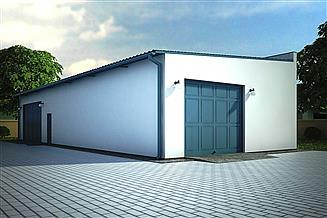 Projekt budynku gospodarczego G112 - Budynek gospodarczy
