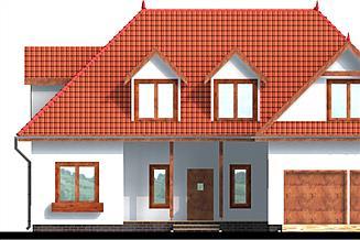 Projekt domu Renata drewniany