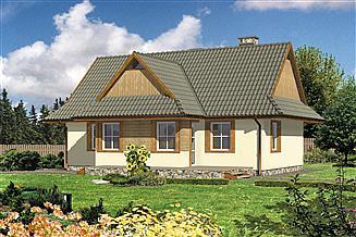 Projekt domu WB-3433