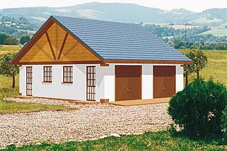 Projekt budynku gospodarczego BG 9