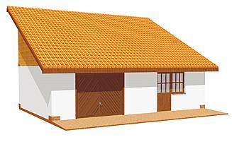 Projekt garażu BG 8
