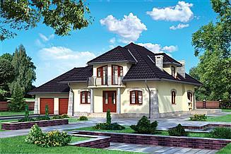 Projekt domu Miłorząb - murowana – ceramika