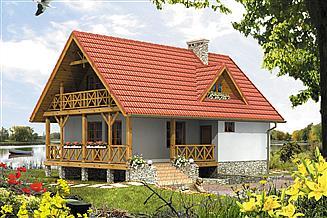 Projekt domu letniskowego Takt 3
