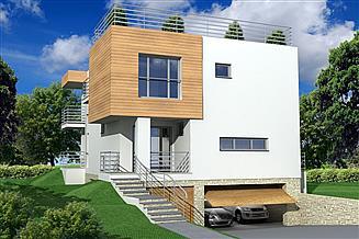 Projekt domu Nasz Dom 3 garaże