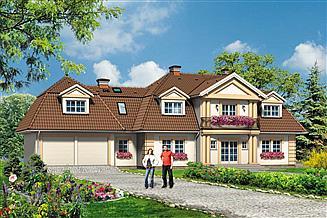 Projekt domu Willa Marzenie