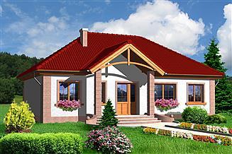 Projekt domu Duszanbe LMB42