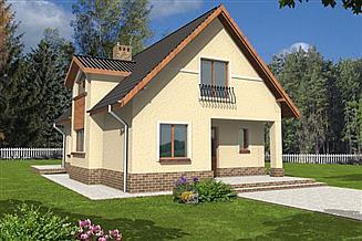 Projekt domu Filemon